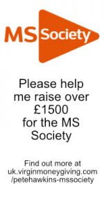 MS Society advert