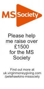MS Society advert